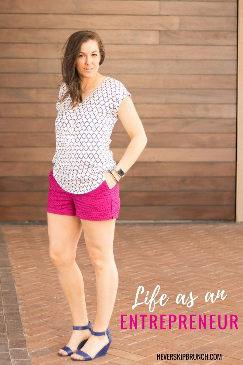 My life as an Entrepreneur | Owning your own Business | Entrepreneur Lifestyle | Spring Style | Hot Pink Shorts