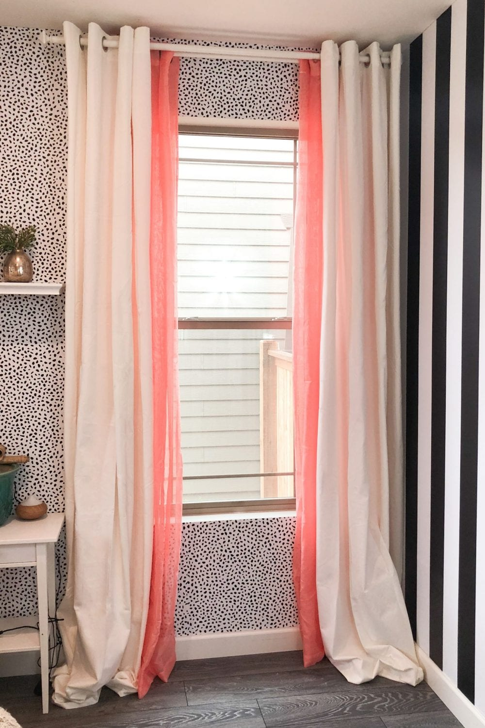 How to Style colored curtains, tip featured by top interior design blogger, Never Skip Brunch