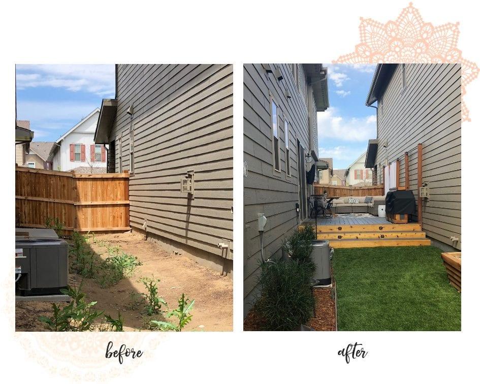 patio design ideas | patio decorating ideas | patio ideas on a budget | never skip brunch by cara newhart #patio #decor