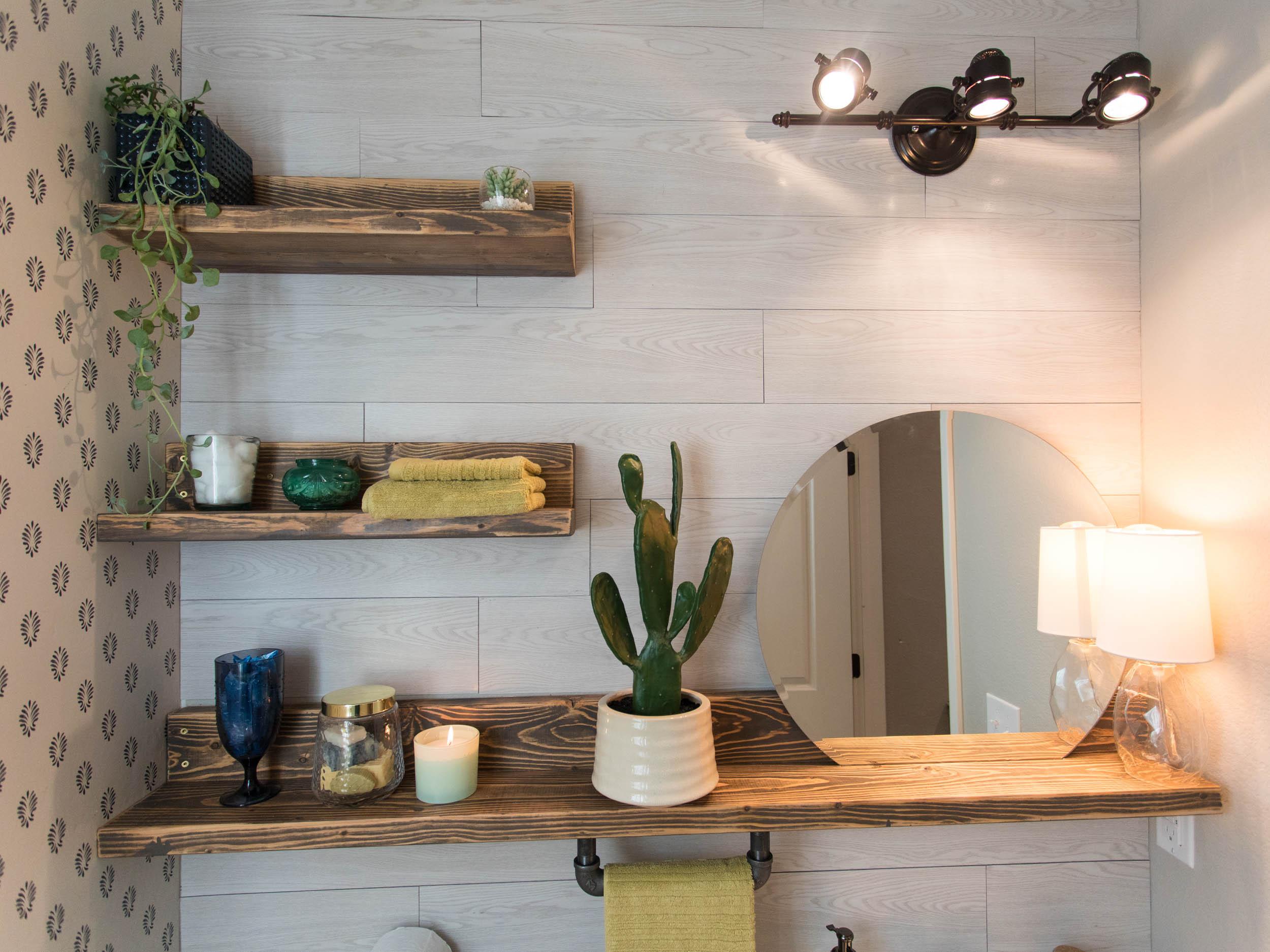 powder bath room renovation | powder bath ideas | small bathroom renovations