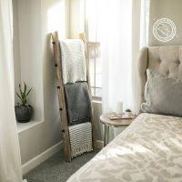DIY Industrial Blanket Ladder