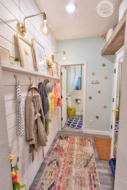 Mudroom Makeover: Maximizing a Storage & Personality in a Small Space