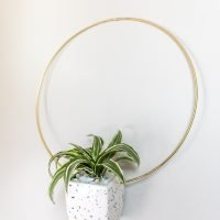 DIY Anthropologie Hanging Planter