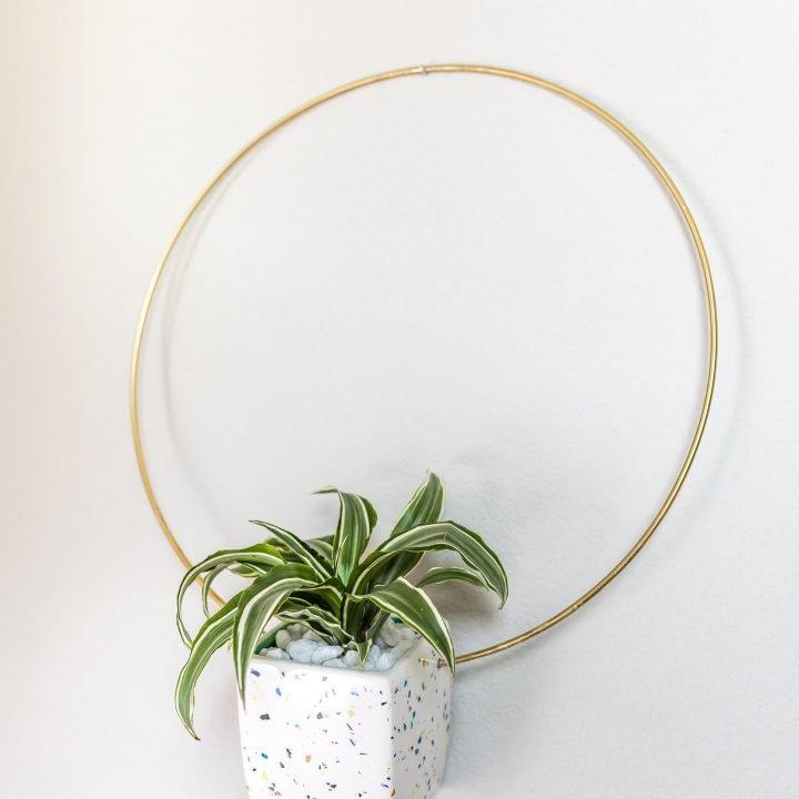 DIY Anthropologie Hanging Planter