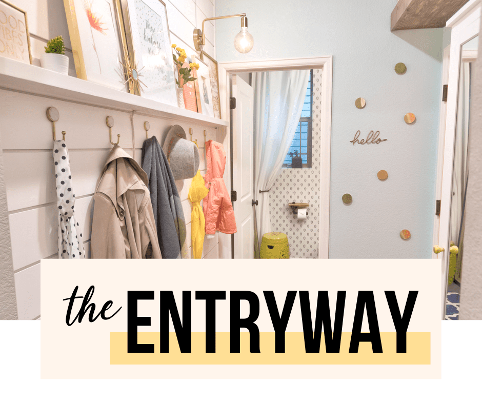 the entryway