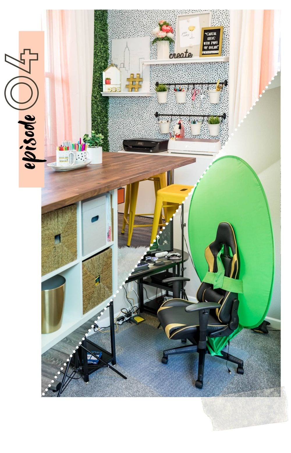 Why you each need your own physical space in your house with Rich Newhart, tips featured by top US home blog and podcast, Never Skip Brunch