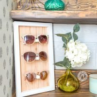 DIY Sunglasses Holder Displays (No Power Tools)