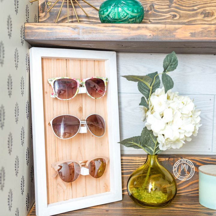 DIY Sunglasses Holder Displays (No Power Tools)