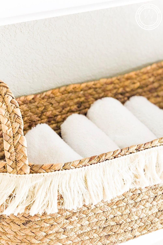 how to fold washcloths like a spa