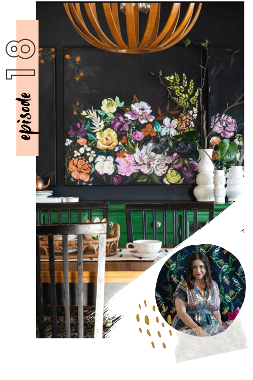 #018: The curated maximalist style  & styling floral prints with Bari J.