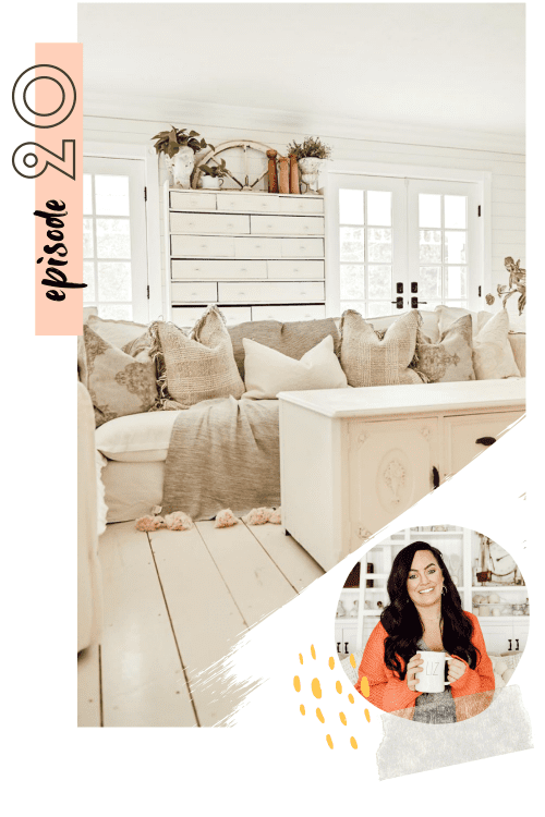 #020: Finding your cozy & learning to love your home with Liz Marie Galvan