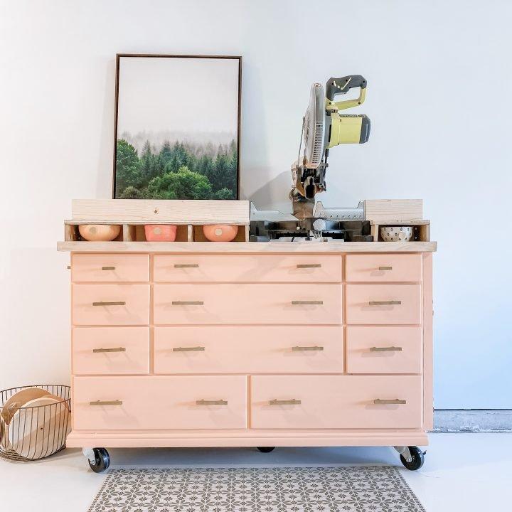 Miter Saw Station Dresser