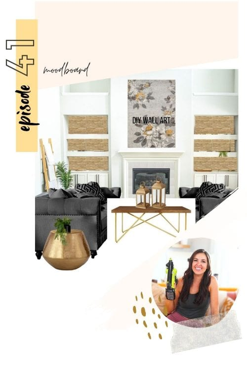 #041: moodboard magic — how to create a mood board to uplevel your diy room design