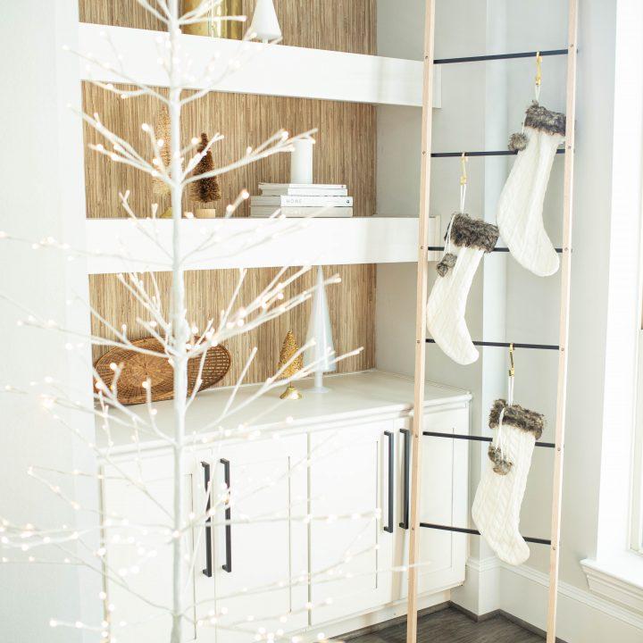 DIY stocking ladder