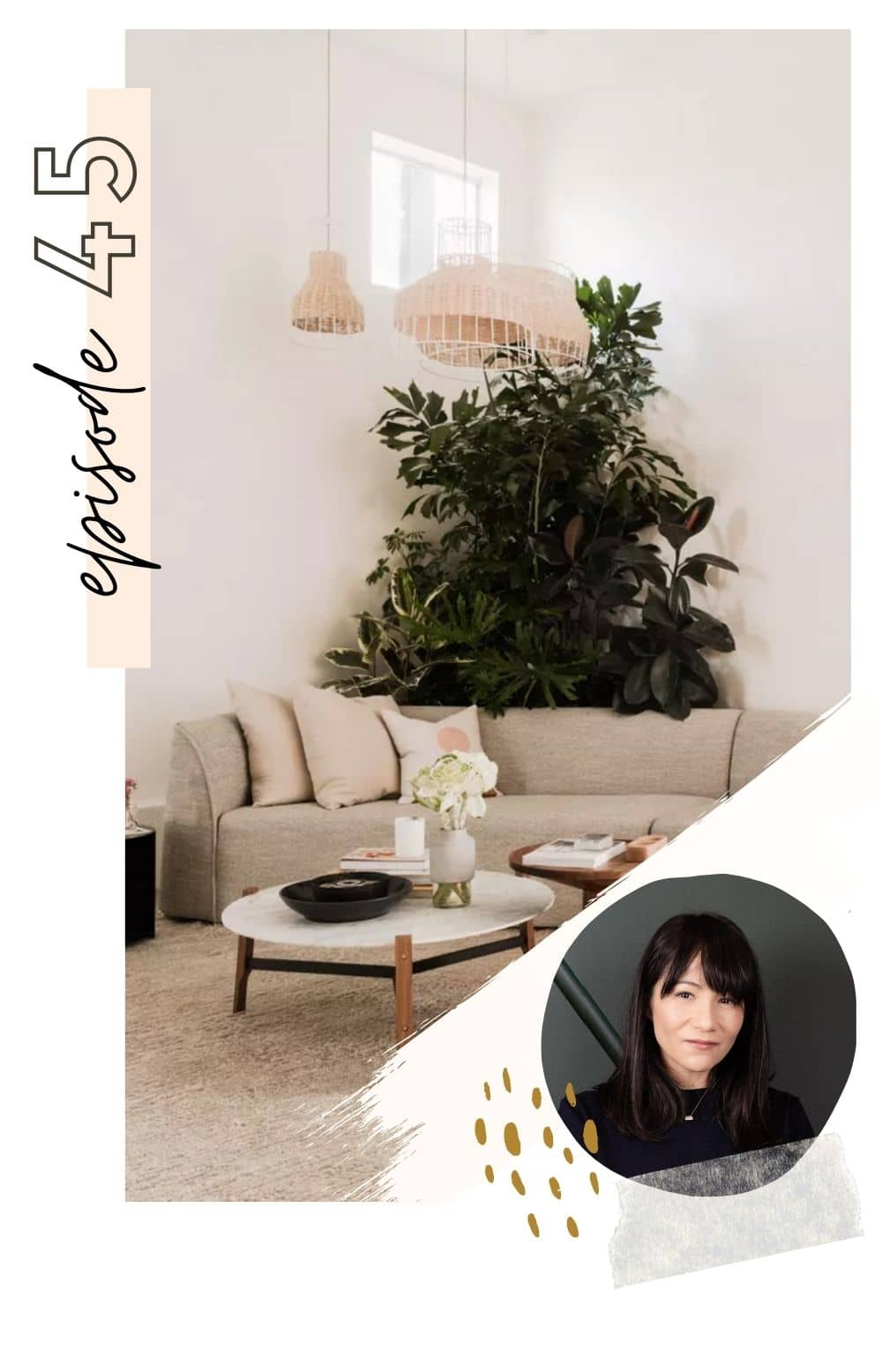 Latest home decor trends on top interior design podcast Make Space by Never Skip Brunch
