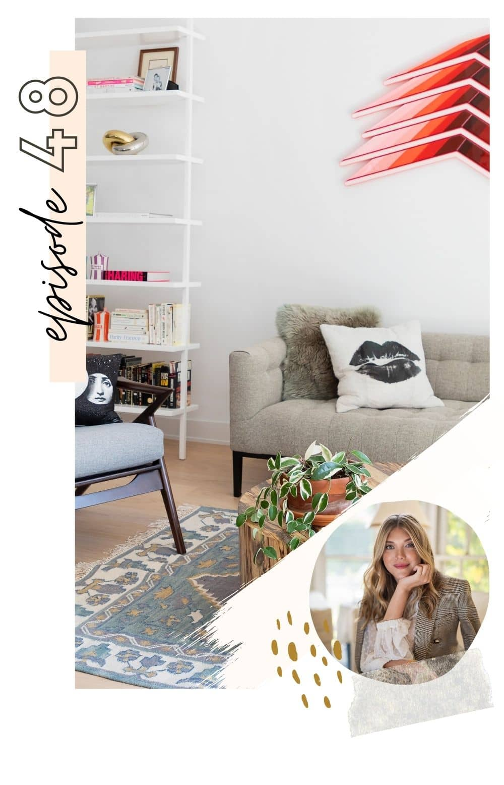 Tips for Renting Furniture featured by top home blogger, Never Skip Brunch