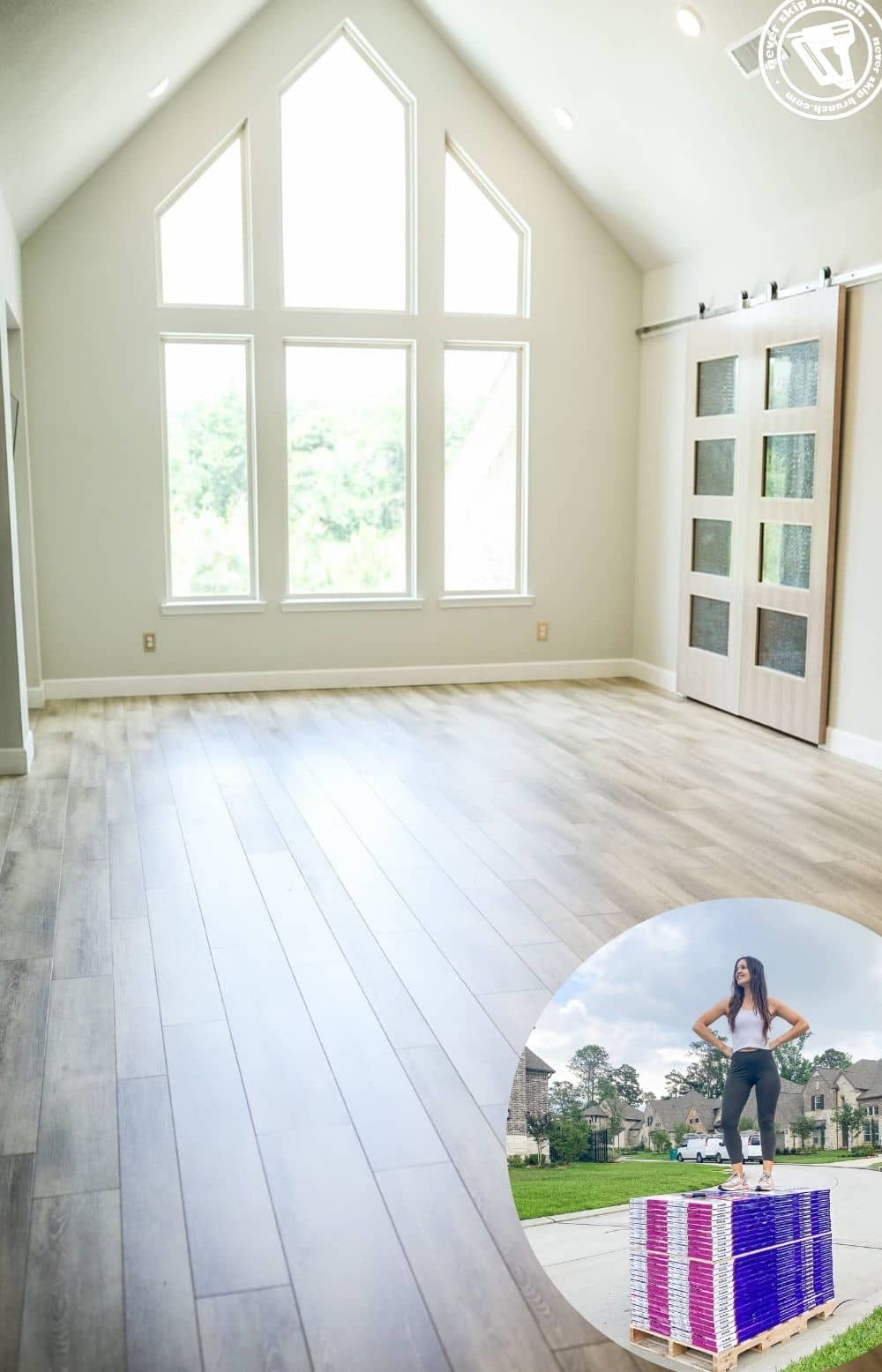 How to Install New Flooring on your Own, tips featured by top home DIY blogger, Never Skip Brunch